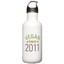 Vegan Since 2011 Water Bottle