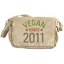 Vegan Since 2011 Messenger Bag