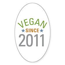 Vegan Since 2011 Decal