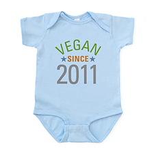 Vegan Since 2011 Infant Bodysuit