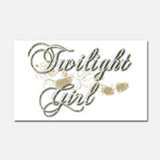 Twilight Girl Car Magnet 20 x 12