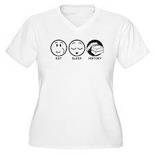 Eat Sleep History T-Shirt