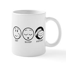 Eat Sleep History Mug