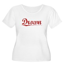 Drown, Vintage Red T-Shirt