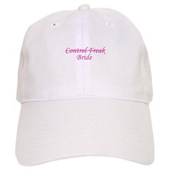 Control Freak (bride) Baseball Cap