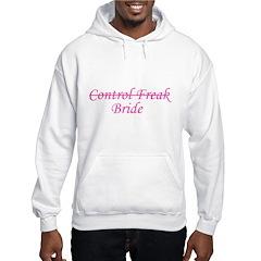 Control Freak (bride) Hoodie