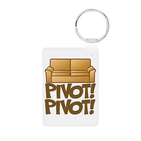 Pivot! Pivot! [Friends] Aluminum Photo Keychain