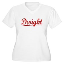 Dwight, Vintage Red T-Shirt
