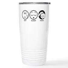 Eat Sleep Read Travel Mug