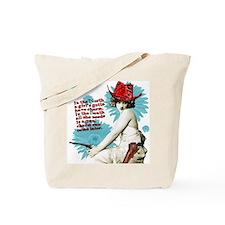 Divas D'Este Wild West Charm Tote Bag