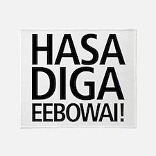 48 HR SALE! Hasa Diga Eebowai Throw Blanket