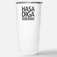 48 HR SALE! Hasa Diga E Stainless Steel Travel Mug