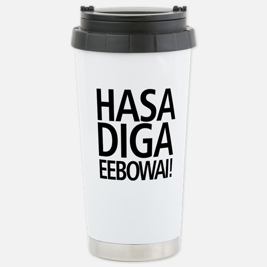 48 HR SALE! Hasa Diga E Stainless Steel Travel Mug