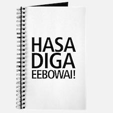 48 HR SALE! Hasa Diga Eebowai Journal