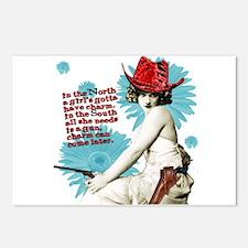 Divas D'Este Wild West Charm Postcards (Pkg/6)