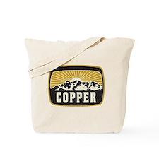 Copper Sunshine Patch Tote Bag