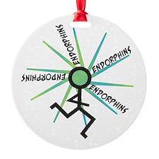 Funny Runner Endorphins Ornament