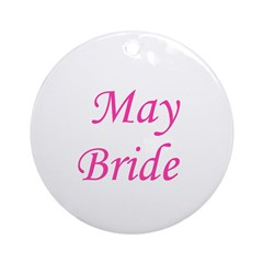 May Bride Ornament (Round)