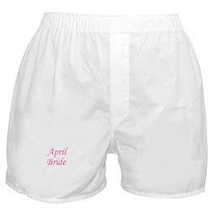 April Bride Boxer Shorts