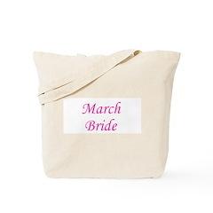 March Bride Tote Bag