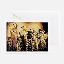 Divas D'Este Wild West Cowgirl Greeting Cards