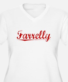 Farrelly, Vintage Red T-Shirt