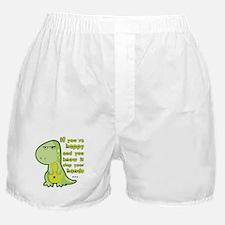 T-rex hands Boxer Shorts