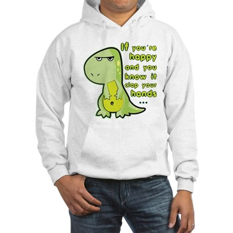 T-rex hands Hooded Sweatshirt