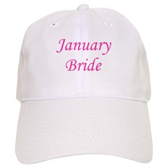 Januray Bride Baseball Cap