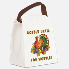 GOBBLE... Canvas Lunch Bag