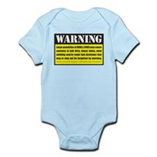 WARNING Rum & Coke Infant Bodysuit