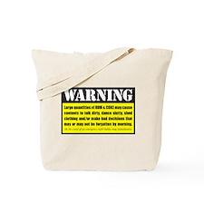 WARNING Rum & Coke Tote Bag