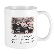 Little Girl and Firetruck Mug