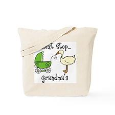Next Stop Grandmas Tote Bag