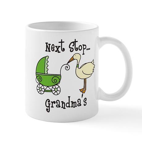 Next Stop Grandmas Mug