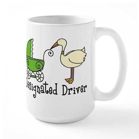 Designated Driver Large Mug