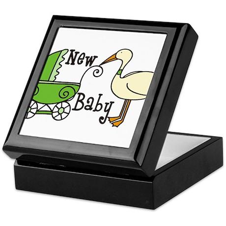 New Baby Keepsake Box