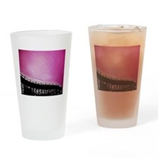 Roller Coaster in Pink Drinking Glass