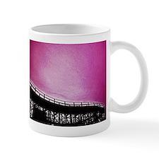 Roller Coaster in Pink Mug