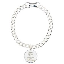 Twilight Saga Dates Sparkly Bracelet