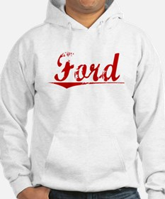 Ford, Vintage Red Jumper Hoody