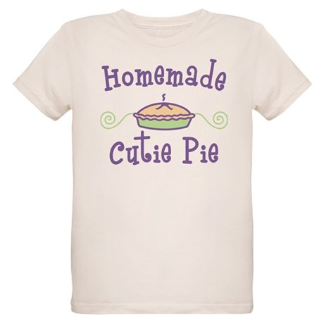 Homemade Cutie Pie Organic Kids T-Shirt