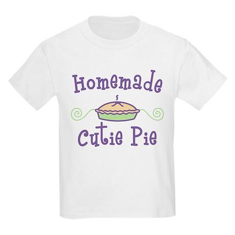 Homemade Cutie Pie Kids Light T-Shirt