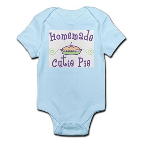 Homemade Cutie Pie Infant Bodysuit