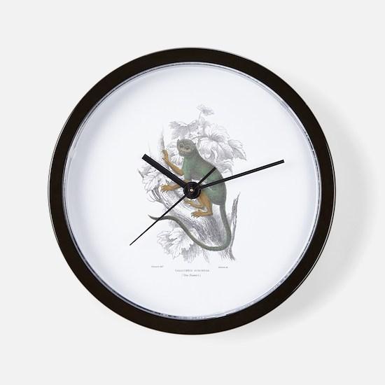 Siamiri Monkey Wall Clock