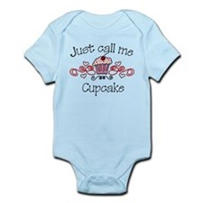 Just Call Me Cupcake Infant Bodysuit