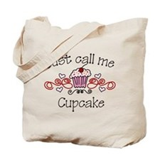 Just Call Me Cupcake Tote Bag