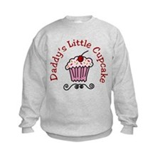 Daddys Little Cupcake Sweatshirt