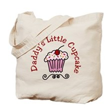 Daddys Little Cupcake Tote Bag
