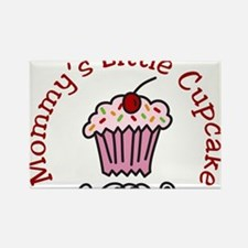 Mommys Little Cupcake Rectangle Magnet